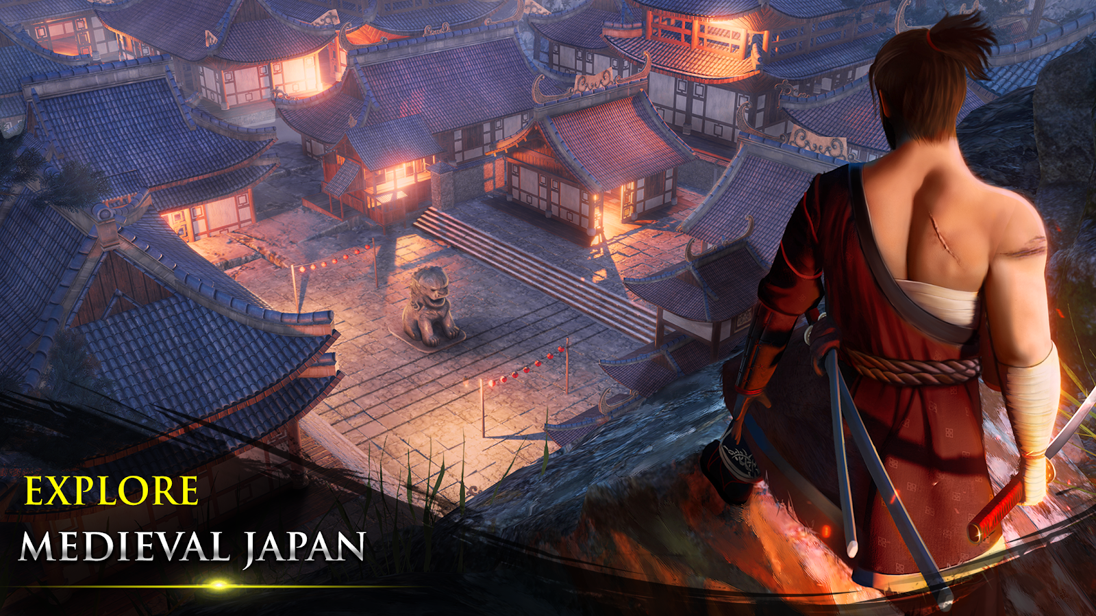 самурай ниндзя воин apk mod