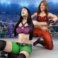 Bad Girls Wrestling Rumble: Women Fighting Games