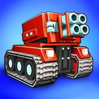 Blocky Cars - pixel shooter, tank wars